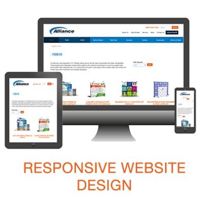 Responsive Design Web Site, Compter, Tablet, Phone