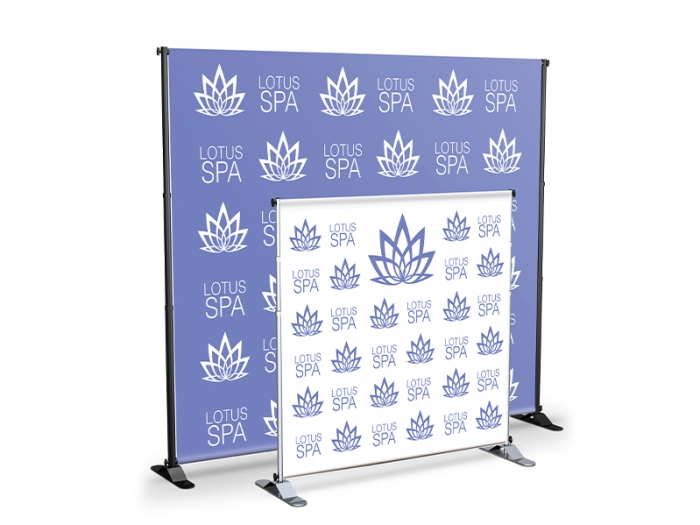 Adjustable Pole Banner Stand