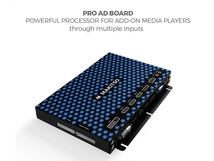 """Makitso Blade 40"""" - 4K Digital Signage Kiosk, Processor Board with Connection Capabilities"""