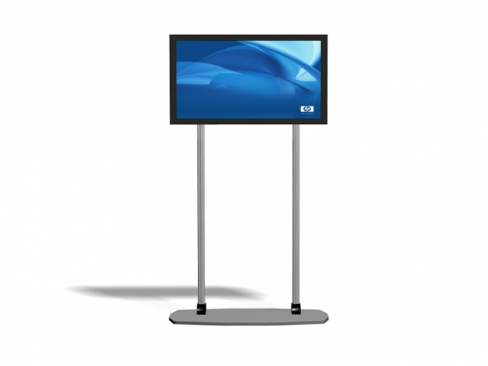 Exhibitline EX.1 LCD Monitor Stand Front View
