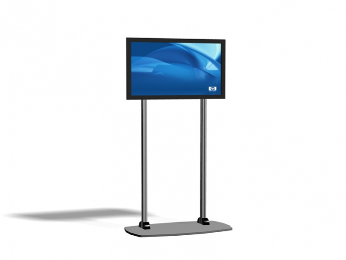 Exhibitline EX.1 LCD Monitor Stand Left View