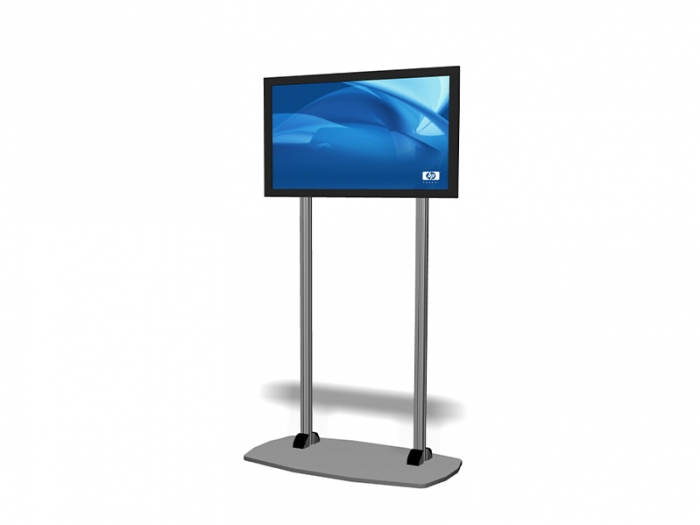 Exhibitline EX.1 LCD Monitor Stand Right View
