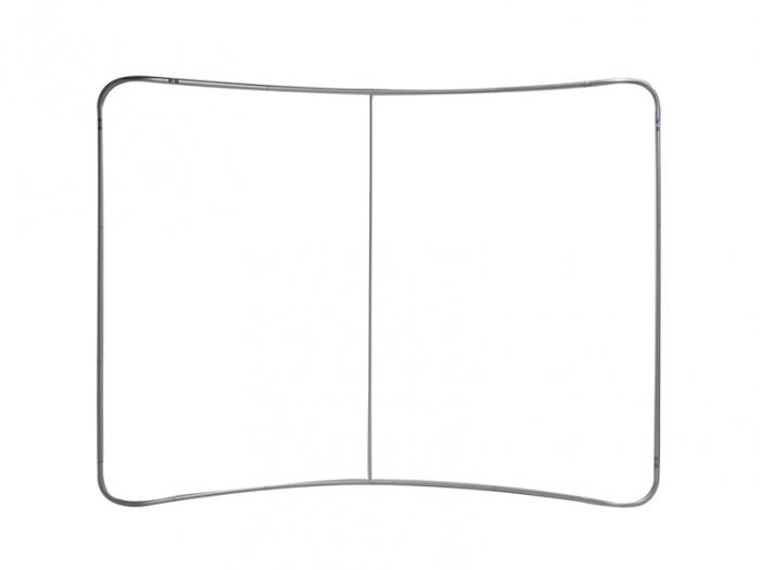 EZ Tube 6ft Tabletop Curved Display Frame