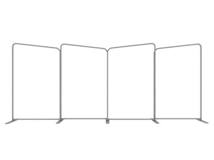 EZ Tube Connect 20FT Kit D Four Panels, Frame View