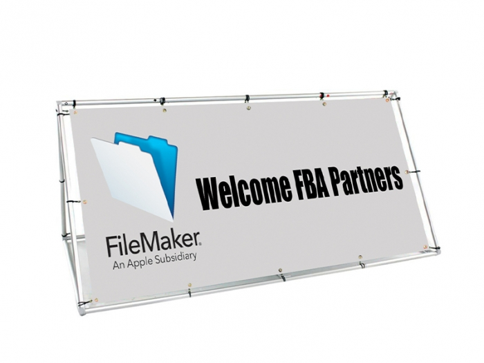 Foundation Outdoor Double-Sided Banner Stand