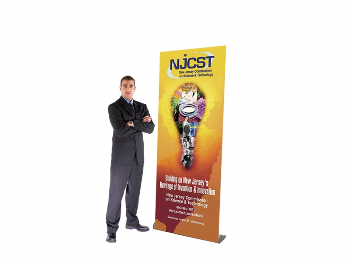 GPS Retractable Banner Stand