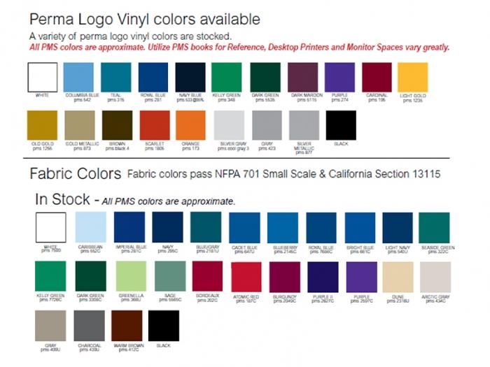 Heat Vinyl Transfer Table Throw Colors