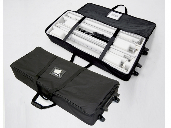LightenUp Illuminated Backlit Fabric Display Carry Bag with Kit Parts