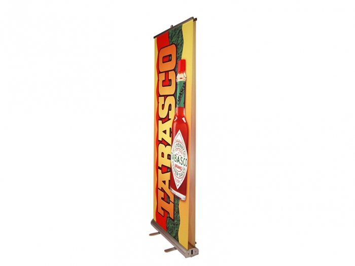 Pronto 2 Double-sided Retractable Banner Stand