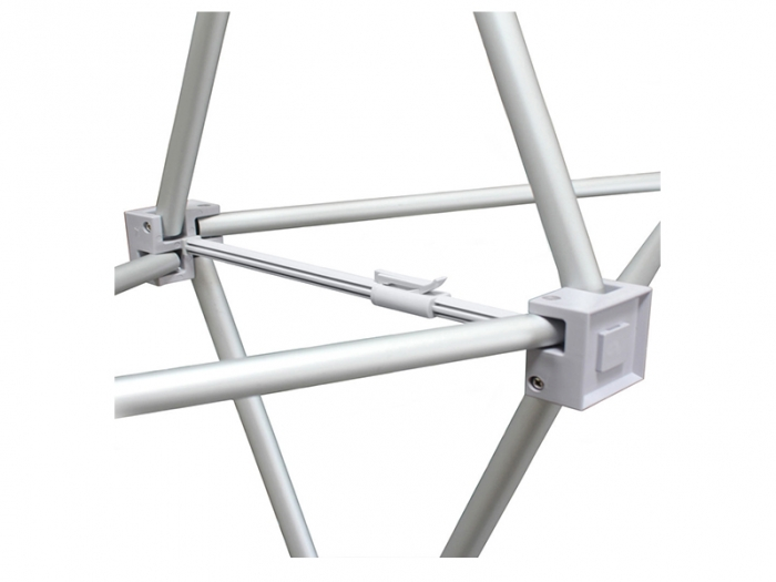 RPL 10ft Fabric Pop Up Display Frame Connector