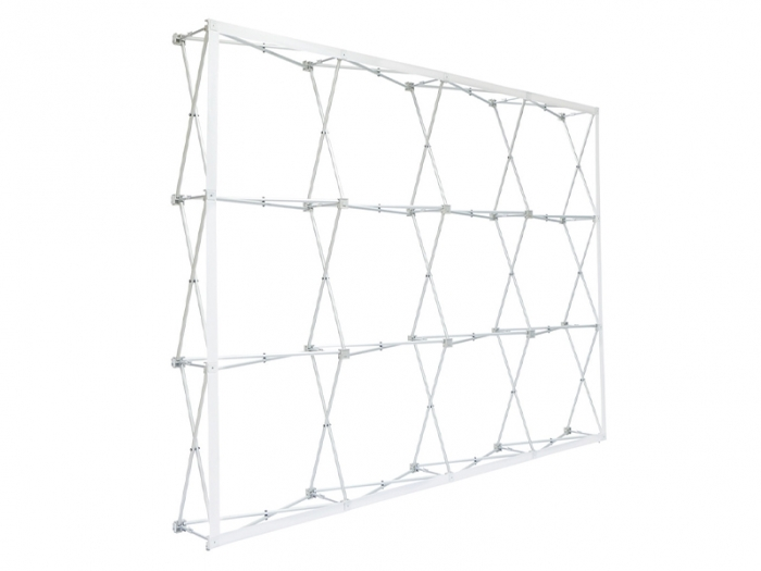 RPL 10ft Fabric Pop Up Display Open Frame