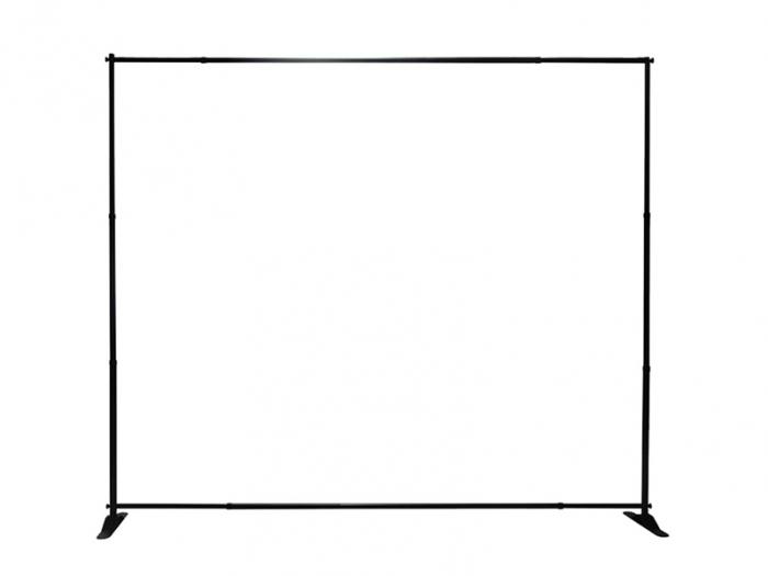Slider 10ft Adjustable Banner Stand Frame