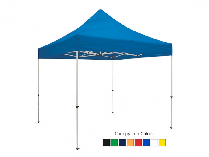 Standard 10ft Unprinted Blue Canopy Tent Top