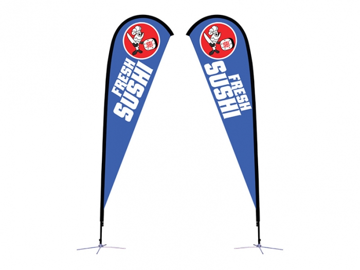 Sunbird Flag - X-Base Double-Sided Graphic Package Large