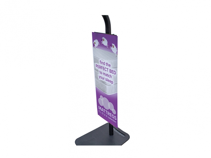 Tablet Display Stand Banner