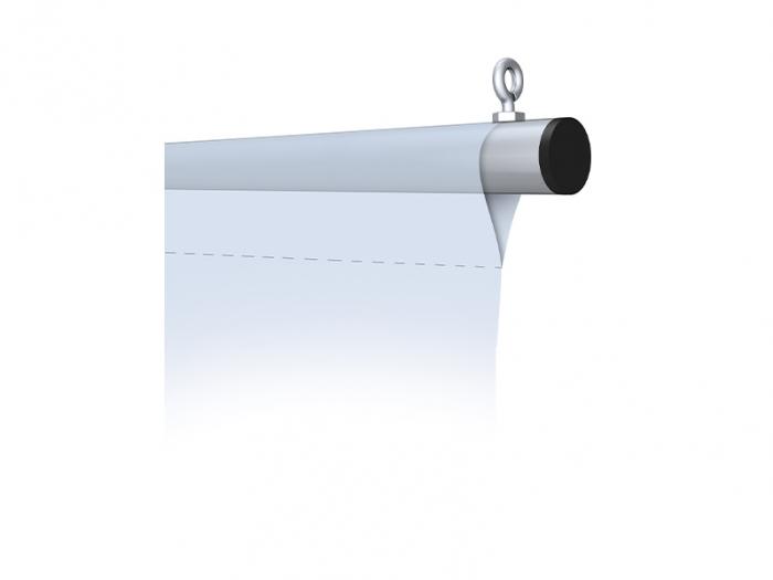 Trapeze Hanging Banner Bars Top Eyebolt