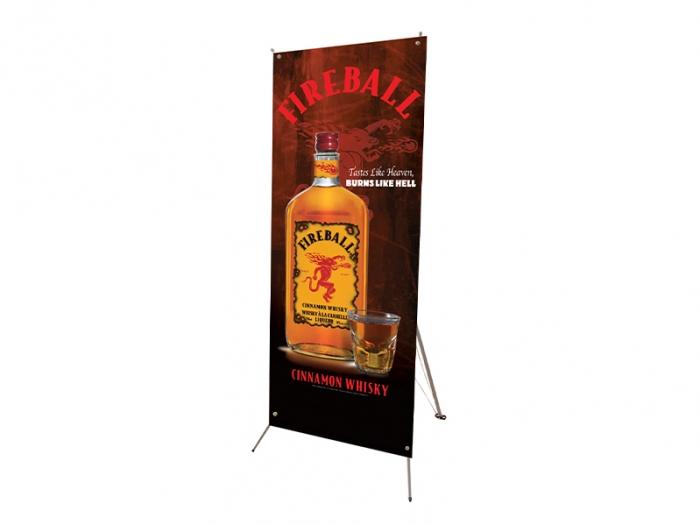"Tripod Banner Display Kit (24"" x 60"")"