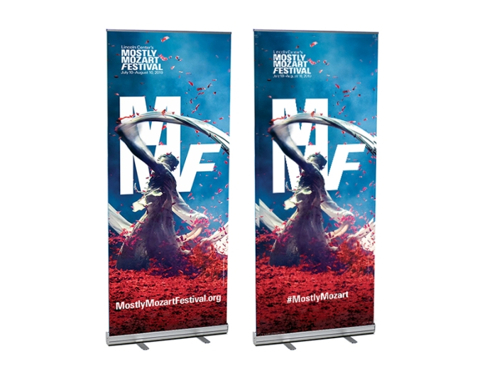 V-STAND Retractable Banner Stands
